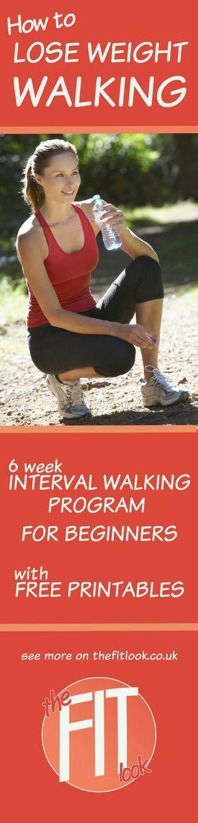 8 week walking program