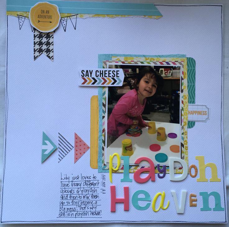 Playdoh Heaven 12x12