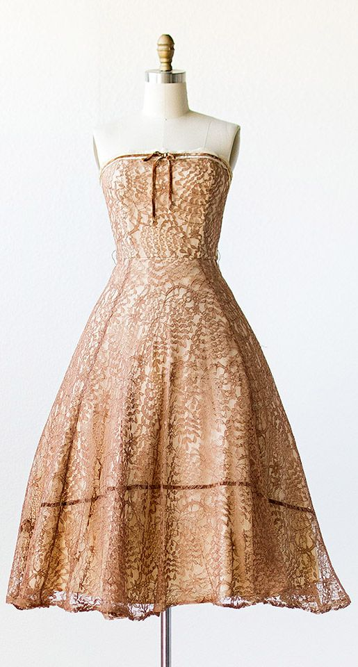 17 Best ideas about Brown Lace Dresses on Pinterest | Fall skirts ...