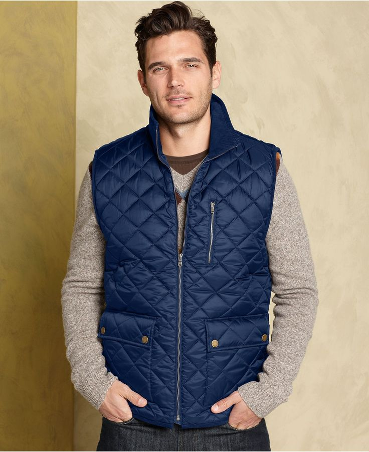 Tommy Hilfiger Outerwear, Flint Quilted Vest - Mens Coats & Jackets - Macy's