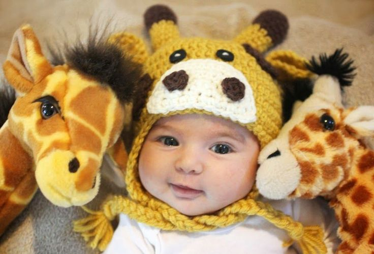 "My boys love giraffes. It's their favorite zoo animal and they both have giraffe stuffed animals that they snuggle with in bed every night. So this giraffe hat has been on my to-do list for awhile! And I must have good timing because there is something called the ""great giraffe challenge"" that has gone viral …"