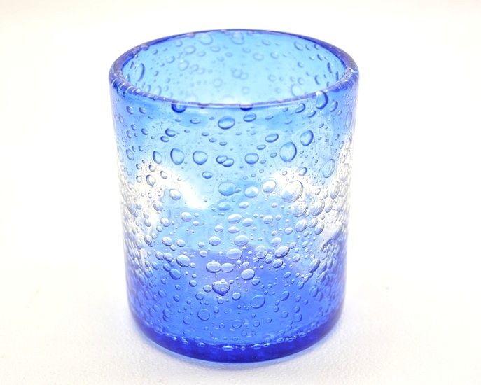 琉球ガラス 泡ロックグラス