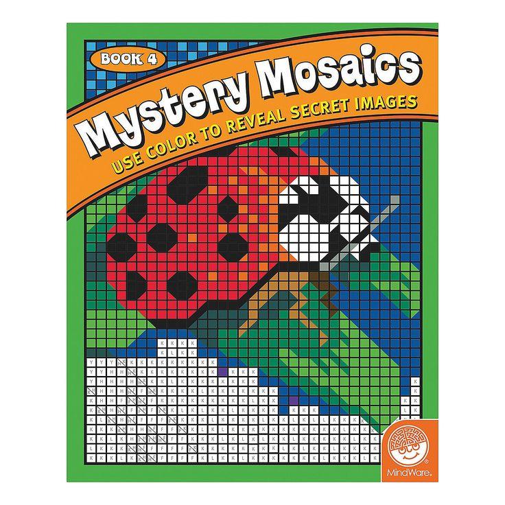 Mindware® Mystery Mosaics Book 4