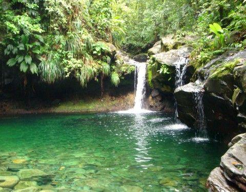 Cascade Paradise à La Guadeloupe