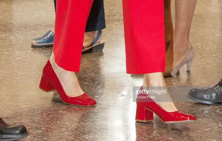Queen Letizia of Spain attends Vision de los expertos en infancia debate in the Red Cross World Day on October 5, 2016 in Madrid, Spain.  (Photo by Europa Press/Europa Press via Getty Images)
