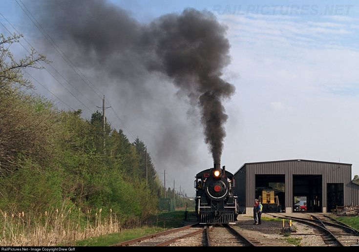 RailPictures.Net Fotoğraf: 9 Waterloo ETR Merkez Buhar Drew Goff tarafından St. Jacobs, Ontario, Kanada 0-6-0