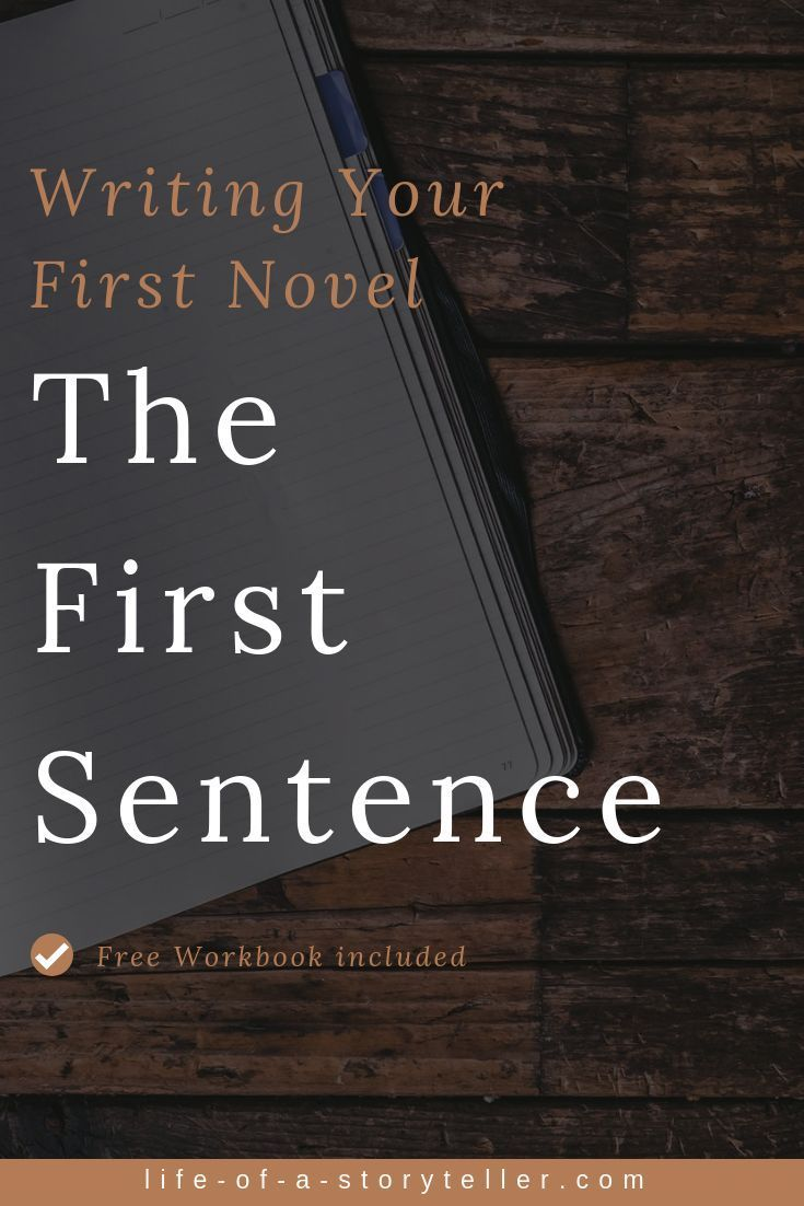 Writing Your First Novel The First Sentence The Opening Sentence Is Your Hook A Narrative Hook Is A Literary Techn Writing Writing A Book Fiction Writing [ 1102 x 735 Pixel ]