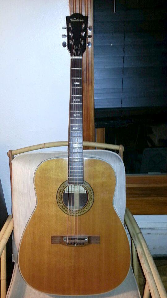 Ventura 12 String Guitar Mahogany