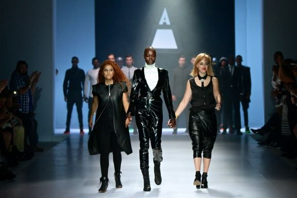Augustine's collection at Mercedes-Benz Fashion Week Joburg 2014. Image by SDR Photo #MBFWJ