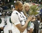 Adreian Payne looked at Lacey and her parents and gave them one instruction for Senior Day -- 'Man, don't cry.'  Read on mlive