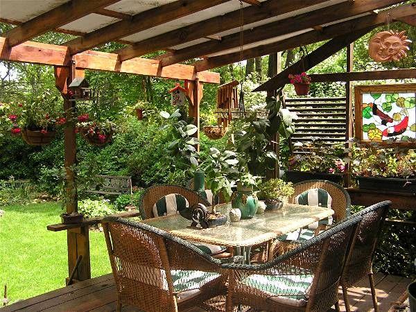 southern outdoor rooms a southern life - Open Garden Decor