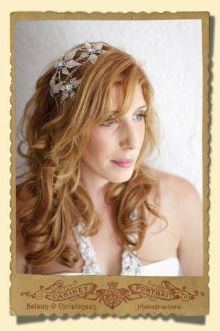 Stacey Hannan Designs - Bride Emma: Large Double Band Star Flower Headpiece, �0.00 (http://www.staceyhannandesigns.com/bride-emma-large-double-band-star-flower-headpiece/)