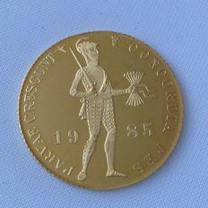 Nederland - Dukaat 1985 Beatrix - goud