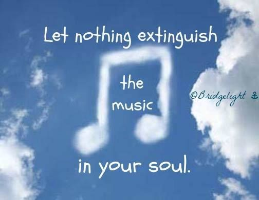 Music in your soul