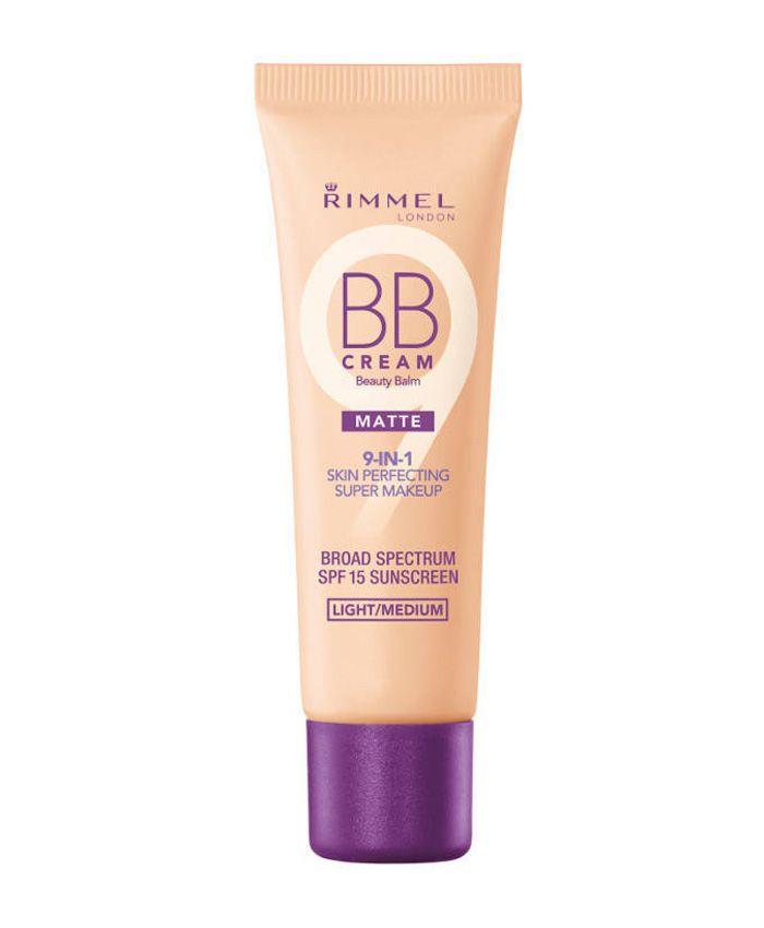 Специальная формула Rimmel BB крема убирает излишки кожного сала, матирует кожу и полностью подготавливает ее к нанесению тональных средств. Крем уменьшает поры, выравнивает тон кожи и идеально скрывает темные круги под глазами.