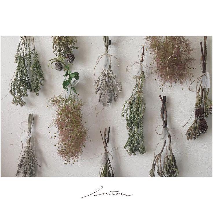 . ミニスワッグいろいろ . . #boutonflower #dryflower #driedflower #ドライフラワー #swag #スワッグ…