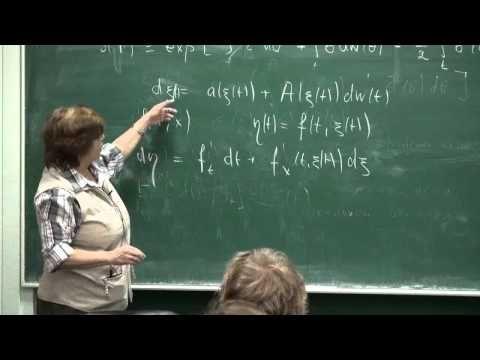 Финансовая математика — объекты, модели, задачи, методы, лекция 1   Яна Белопольская   Лекториум - YouTube