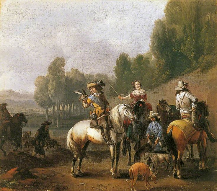 The Athenaeum - Hunting Party (Philips Wouwerman - )