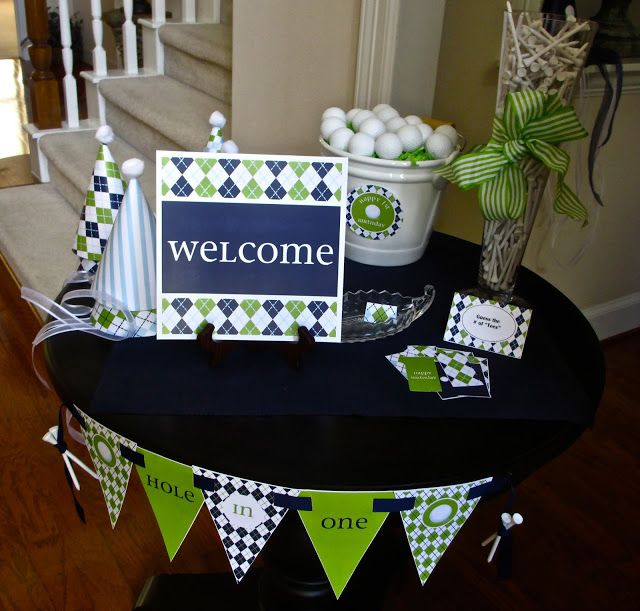 25 best ideas about golf party decorations on pinterest for Golf decoration ideas