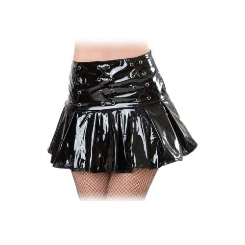 EYELET PLEAT MINI - GLOSS