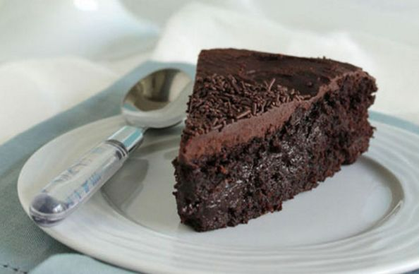 Υγρό κέϊκ σοκολάτας νηστίσιμο