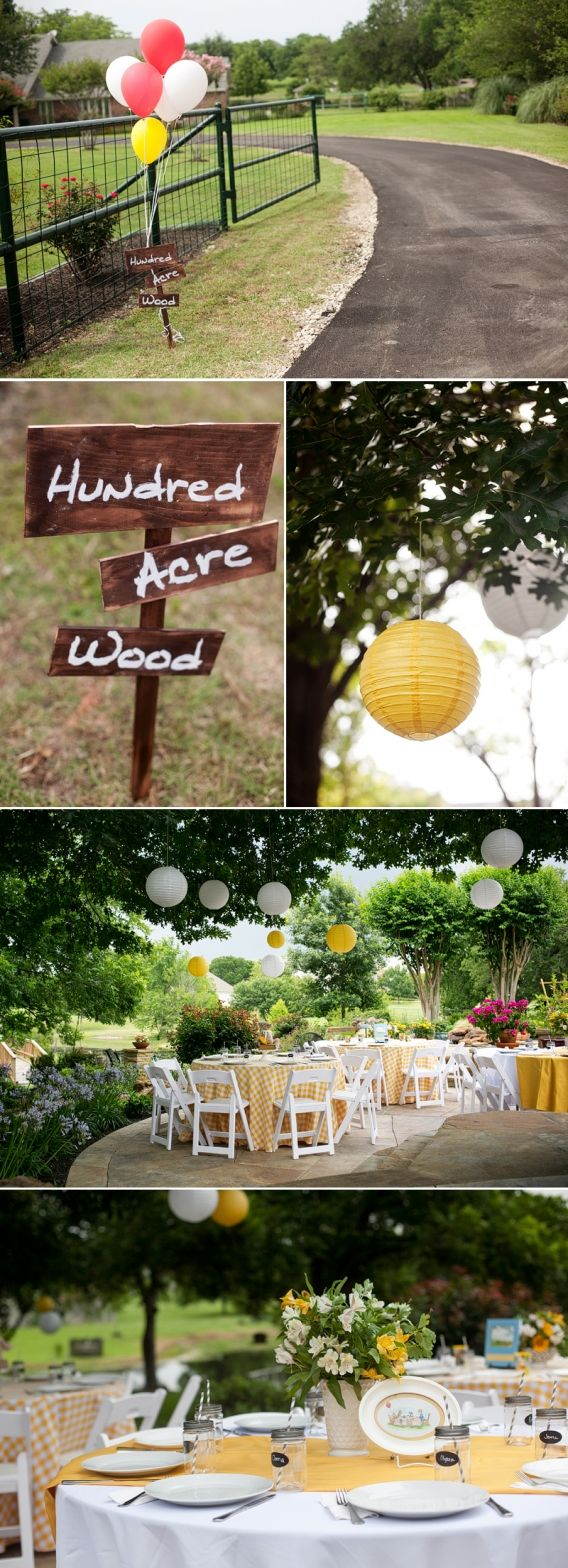 Classic Winnie The Pooh Birthday Party » Crosswhite Photography Blog: Dallas…
