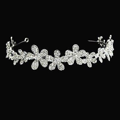 Tiara bloemenmeisje ~ bloem soort legering met bruiloft tiara's / hoofdbanden – EUR € 17.18