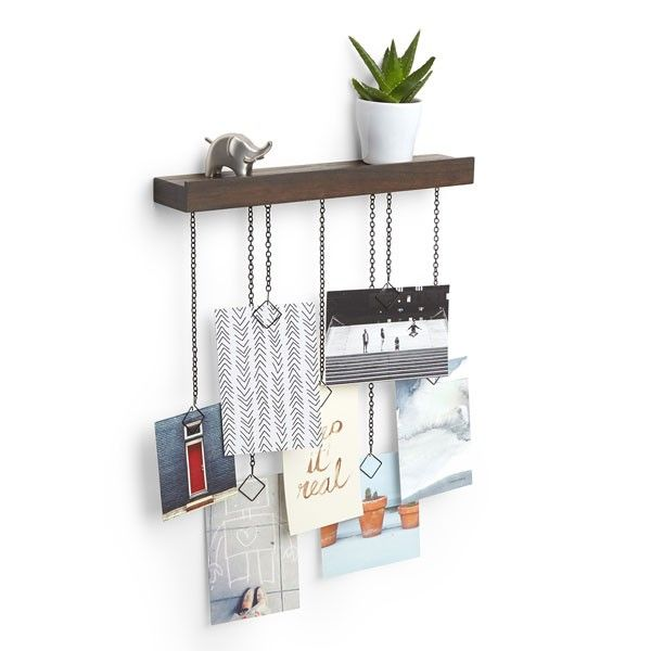 Umbra+Cascade+Photo+Display+-+Combine+storage+with+wall+art+with+the+Umbra+Cascade+Photo+Display!+This+stunning+multipurpose+design+is+both+a+photo+display+and+shelf+all+at+once…