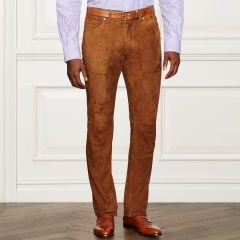 Suede 5-Pocket Pant - Purple Label Best Sellers - RalphLauren.com