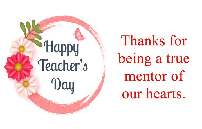 Best Teachers Day Image With Thank You Messages Teachers Teachersday Happyteache Teachers Day Message Inspirational Messages For Teachers Happy Teachers Day