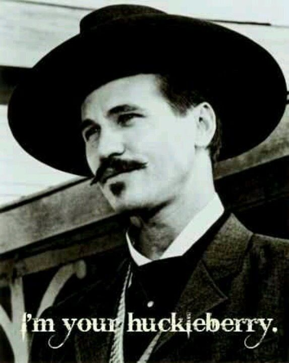 Val Kilmer as Doc Holliday.  A masterful performance by a masterful actor.