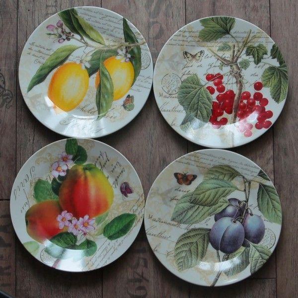 Сервировочные фарфоровые тарелки купить в интернет магазине