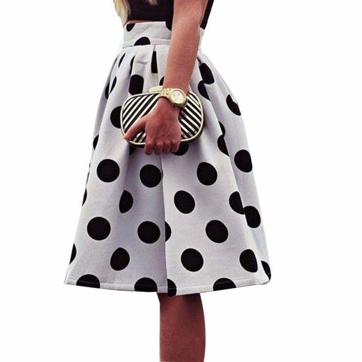 Polka Dot Umbrella Skirt - Polka Dotted All The Things Boutique - polkadottedallthethings.com