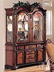 Chateau De Ville Buffet and Hutch in Cherry Finish by Acme – 4079