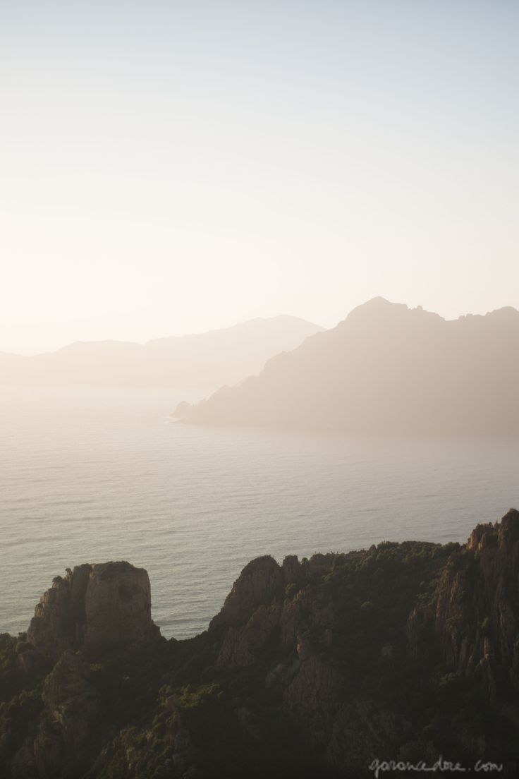 Corsica, ocean, mountains - part of my project with L'Occitane and Marie Claire…