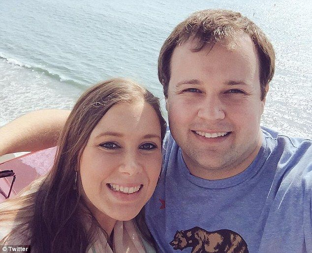 Latest scandal: Anna Duggar will likely 'on some level.... absorb some of the blame' for her husband Josh's cheating and secret pornography addiction, a Duggar family insider says. Above, Anna and Josh together