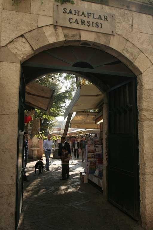 Sahaflar Bazaar - Old Book Bazaar - Tour Maker Turkey