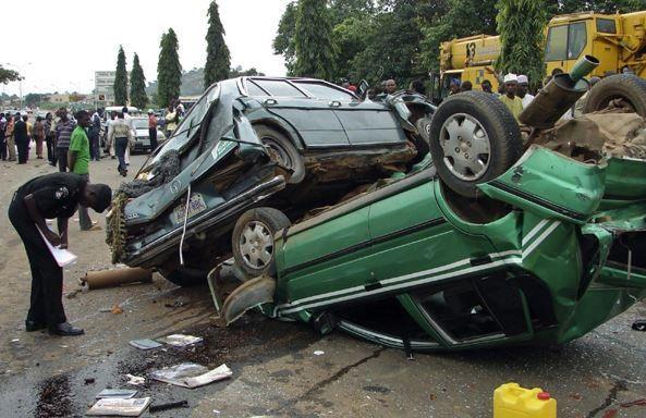 SAD!!! AIT Staff Abdullahi Ibrahim Dies In Accident With Pregnant Wife & 3 Children