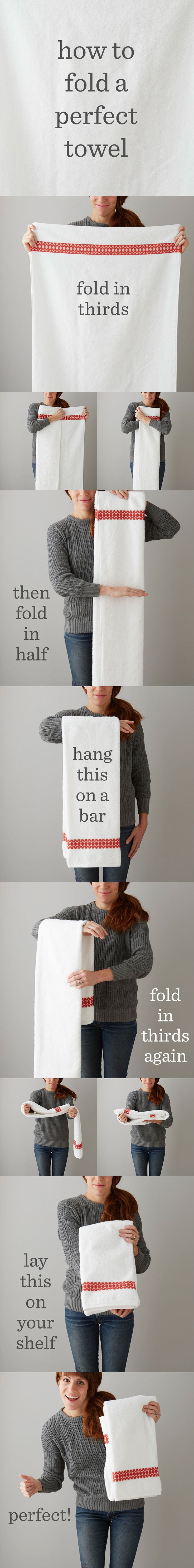 Best 25+ Folding bath towels ideas on Pinterest