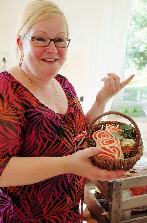 Wie kommt die Spirale in die Kekse? Eine Anleitung! Hol dir schnell das Rezept vom Blog!