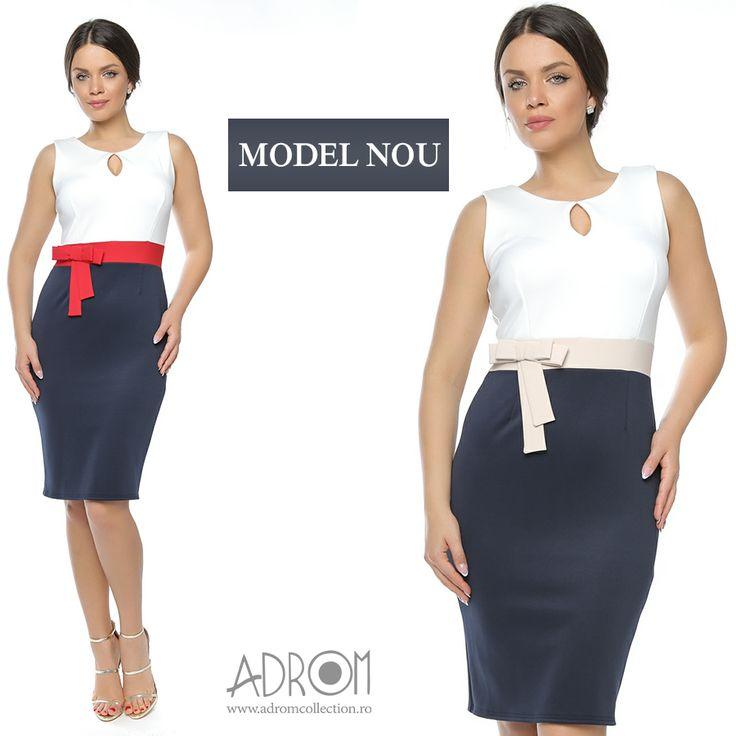 O rochie simplă office, dar de efect își va găsi cu siguranță locul în magazinul tău. Îți propunem rochia R633, care nu va trece neobservată. De asemenea, acest model este disponibil și pe mărimi MARI.  Link produs: http://www.adromcollection.ro/633-rochie-angro-r633.html