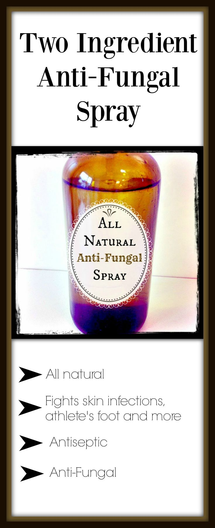 You do not have to buy expensive anti-fungal creams when you can make it at home for just pennies. Fungal problems are usually indicative of a bigger internal issue, but it's a great idea to treat it on the outside with something that is natural and non-toxic. #allnaturalantifungal