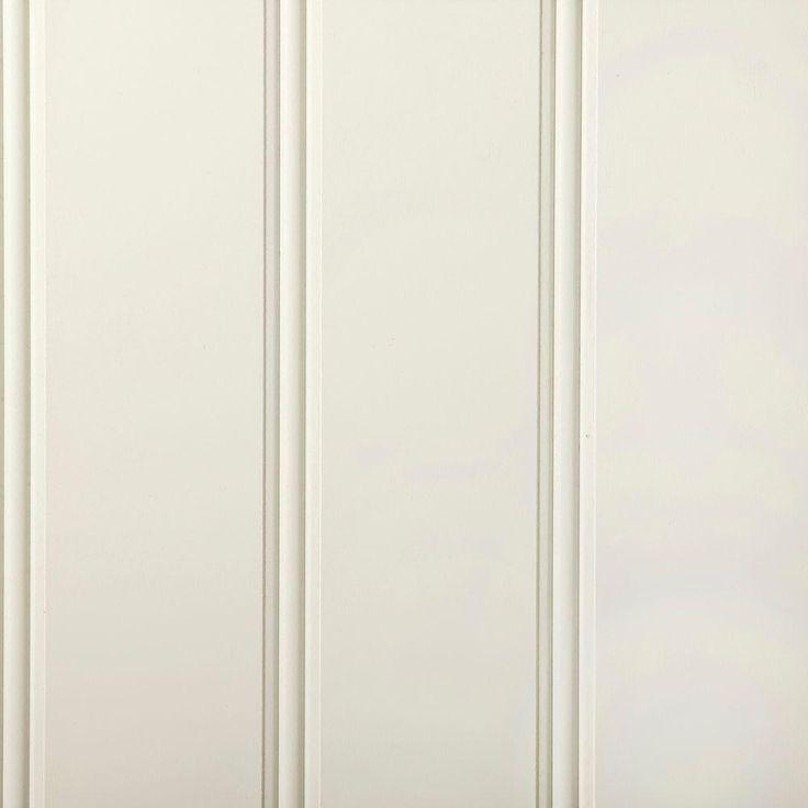 null 32 sq. ft. Ultra True Bead Hardboard Paneling