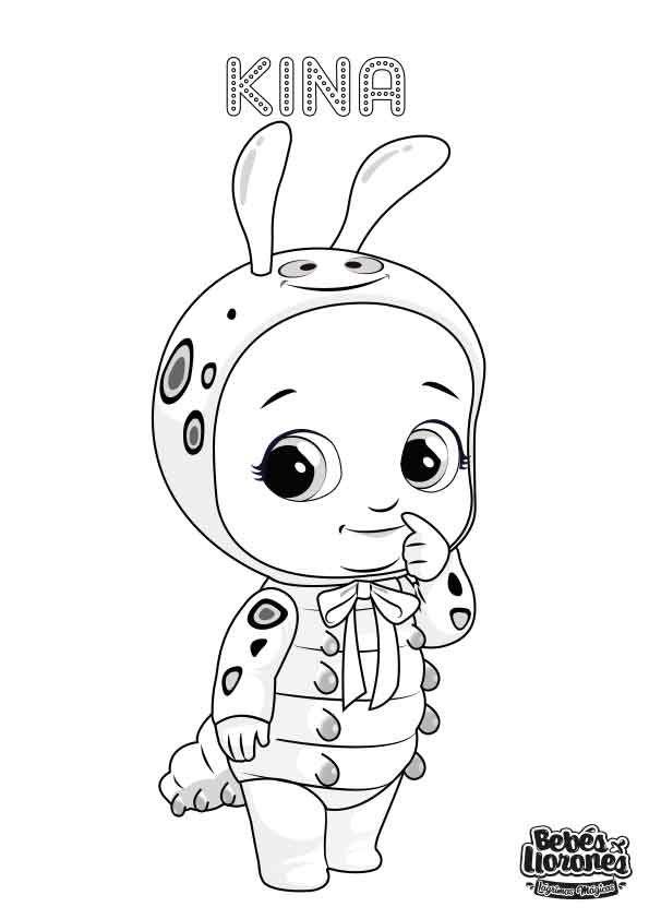 A Pintar Bebés Llorones Lágrimas Mágicas La Llorona Dibujo De Bebé Imagenes Para Colorear Niños