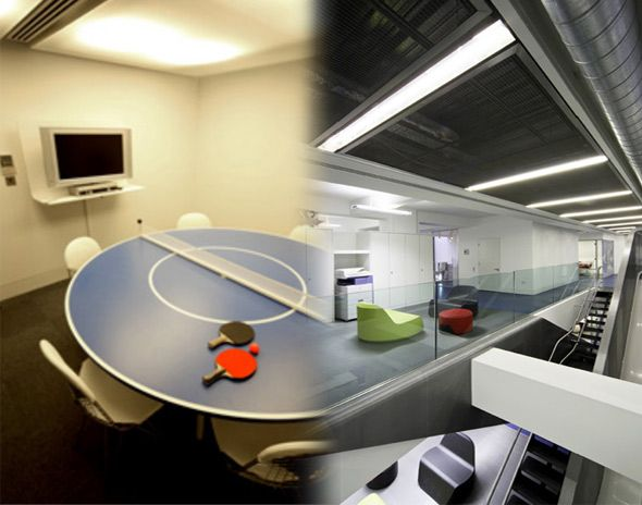 interesting office spaces. interesting conference table office spaces c