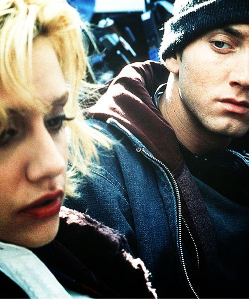 8 Mile. Brittany Murphy (RIP) and Eminem.