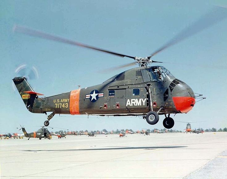 Sikorsky S-58 landing c - Sikorsky Aircraft - Wikipedia, the free encyclopedia