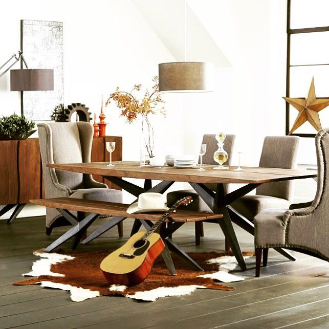 If You Want To Create A Cool Lofty Gathering Spot For Your Friends Checkout  Our New Village Industrial Loft Dining Room Collection.