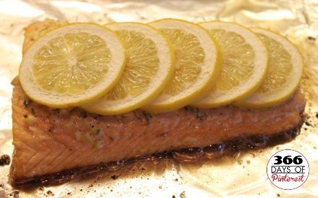 Salmon with Garlic, Lemon and Dill | FOOD | Pinterest
