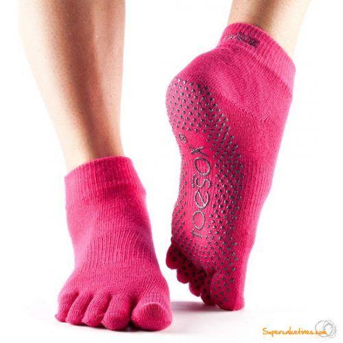Teosoxs tobilleros Ankle con dedos.